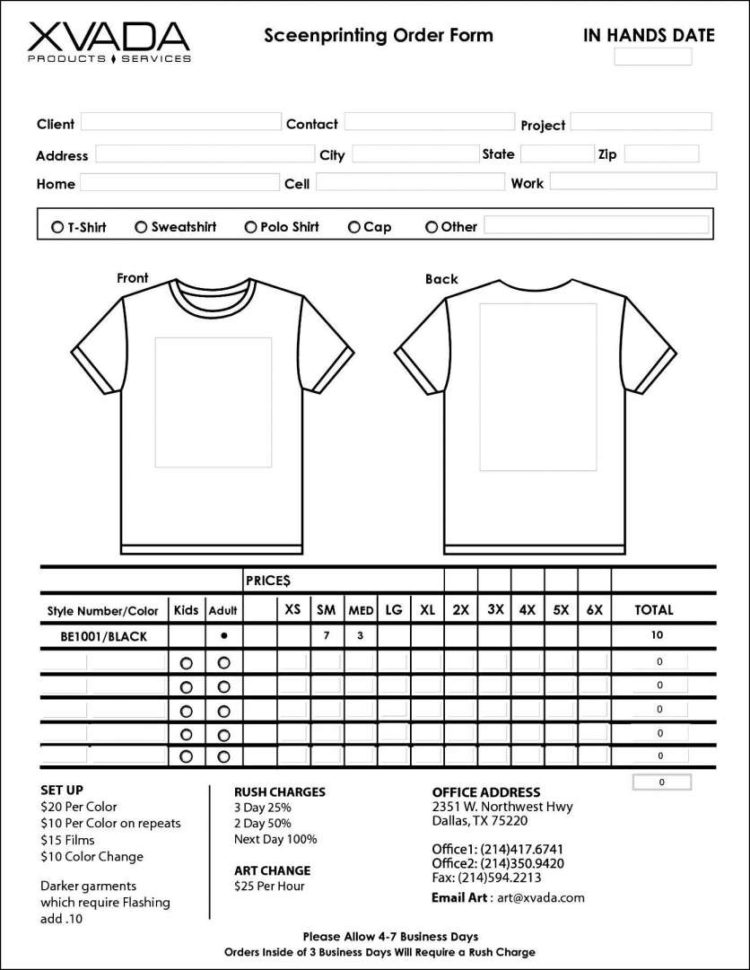 Word Spreadsheet Template Pertaining To Jewelry Inventory Spreadsheet Template With Sample T Shirt Order