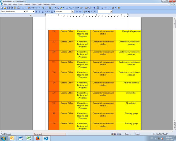 Wordperfect Spreadsheet Throughout Converting Spreadsheets To Word Documents: A Walkthrough