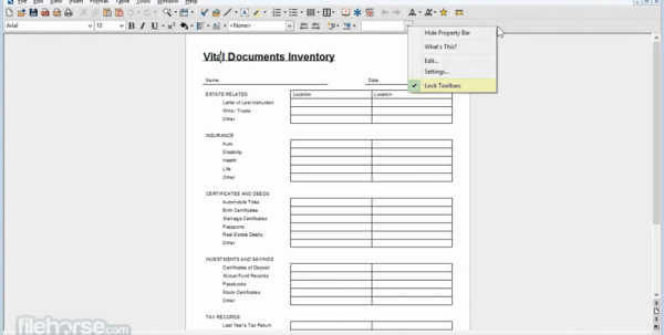 Wordperfect Spreadsheet Throughout Corel Wordperfect Office X9 19.0.0.325 Download For Windows