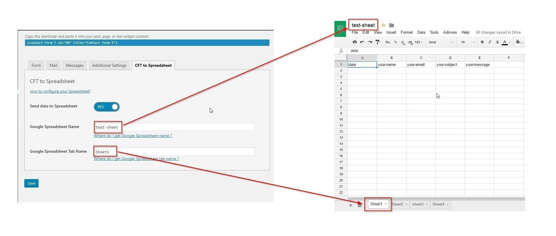 Wordpress Spreadsheet Within Cf7 To Spreadsheet – Ultimate Addons For Beaver Builder