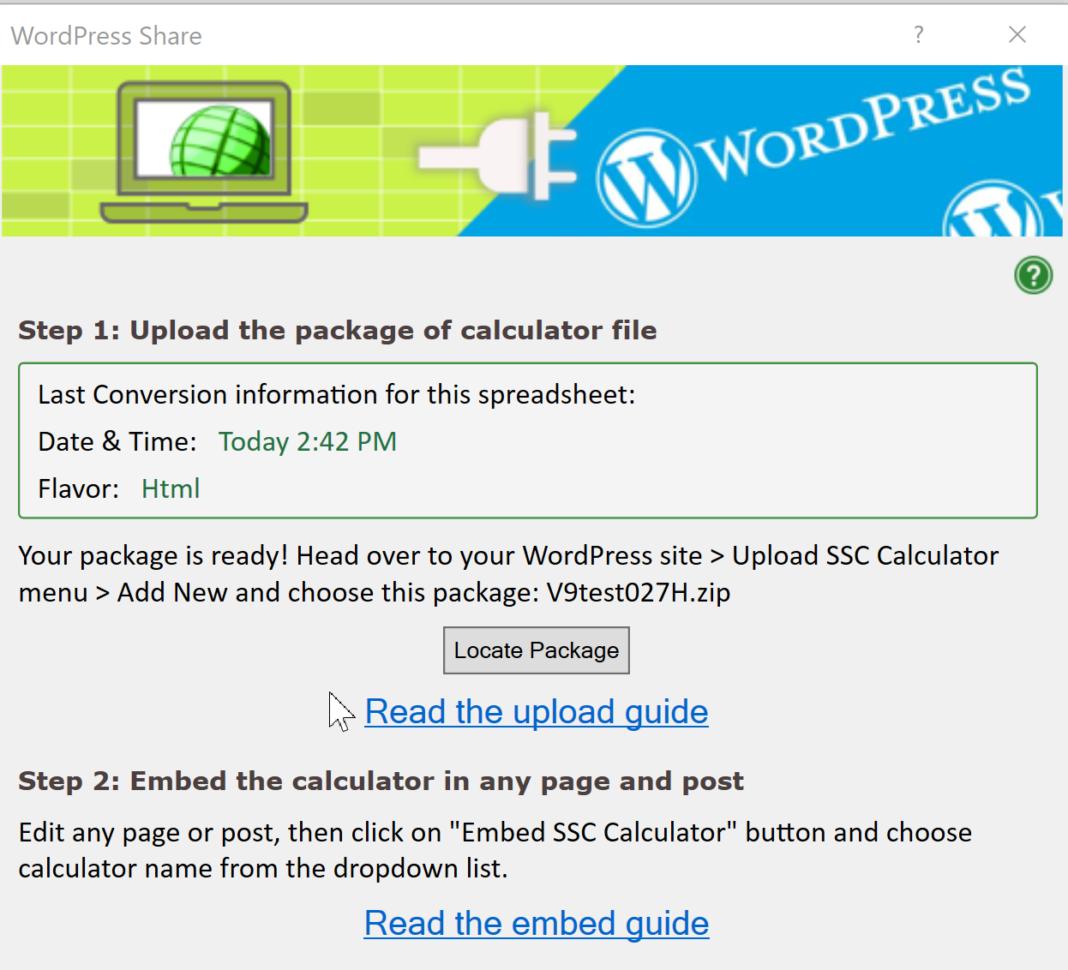 Wordpress Spreadsheet Within Help: Upload A Spreadsheet To Wordpress  Spreadsheetconverter