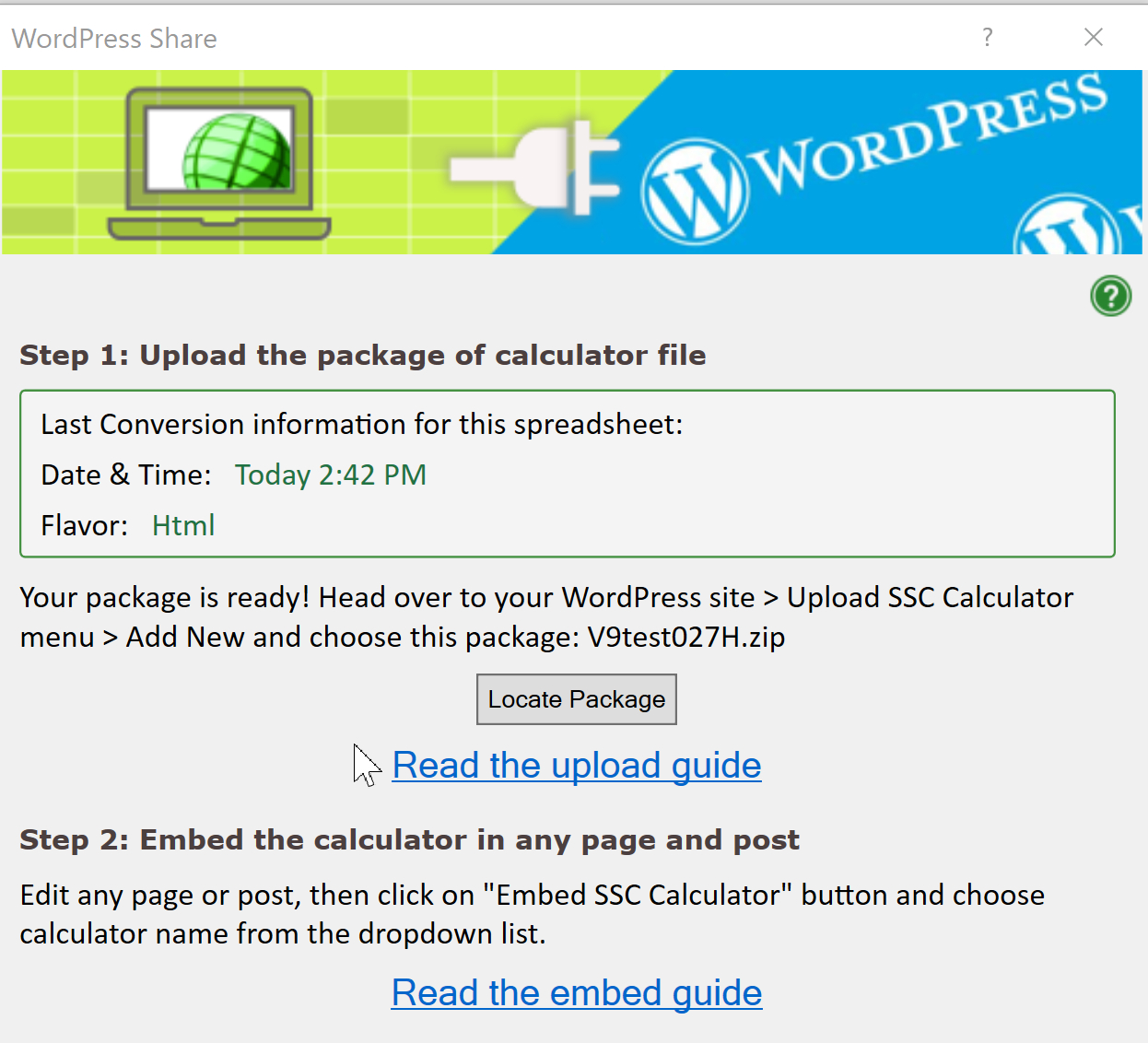 Wordpress Spreadsheet Within Help: Upload A Spreadsheet To WordPress  Spreadsheetconverter