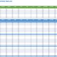 Work Expenses Spreadsheet Template Inside Free Expense Report Templates Smartsheet