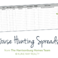 Work From Home Spreadsheets Pertaining To Buyers: Keep Track Of Your House Hunting [Free Spreadsheet