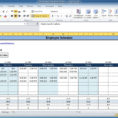 Work Schedule Spreadsheet Excel Pertaining To Free Employee And Shift Schedule Templates