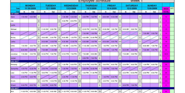 Work Schedule Spreadsheet Excel With Daily Hourly Planner Template Excel Inspirational Free Excel Work
