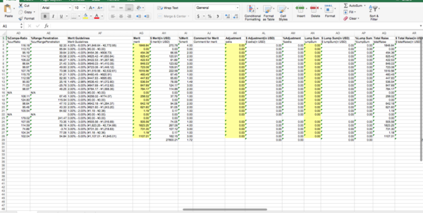 Workers Compensation Excel Spreadsheet Pertaining To Jeremy Masters
