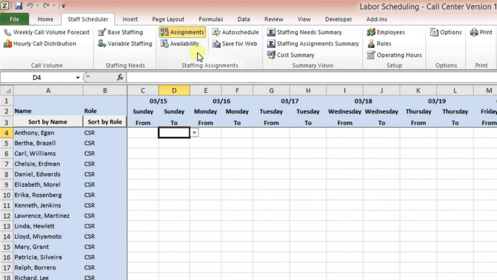Workforce Planning Excel Spreadsheet Intended For 005 Workforcening Template Xls Management Excel Spreadsheet