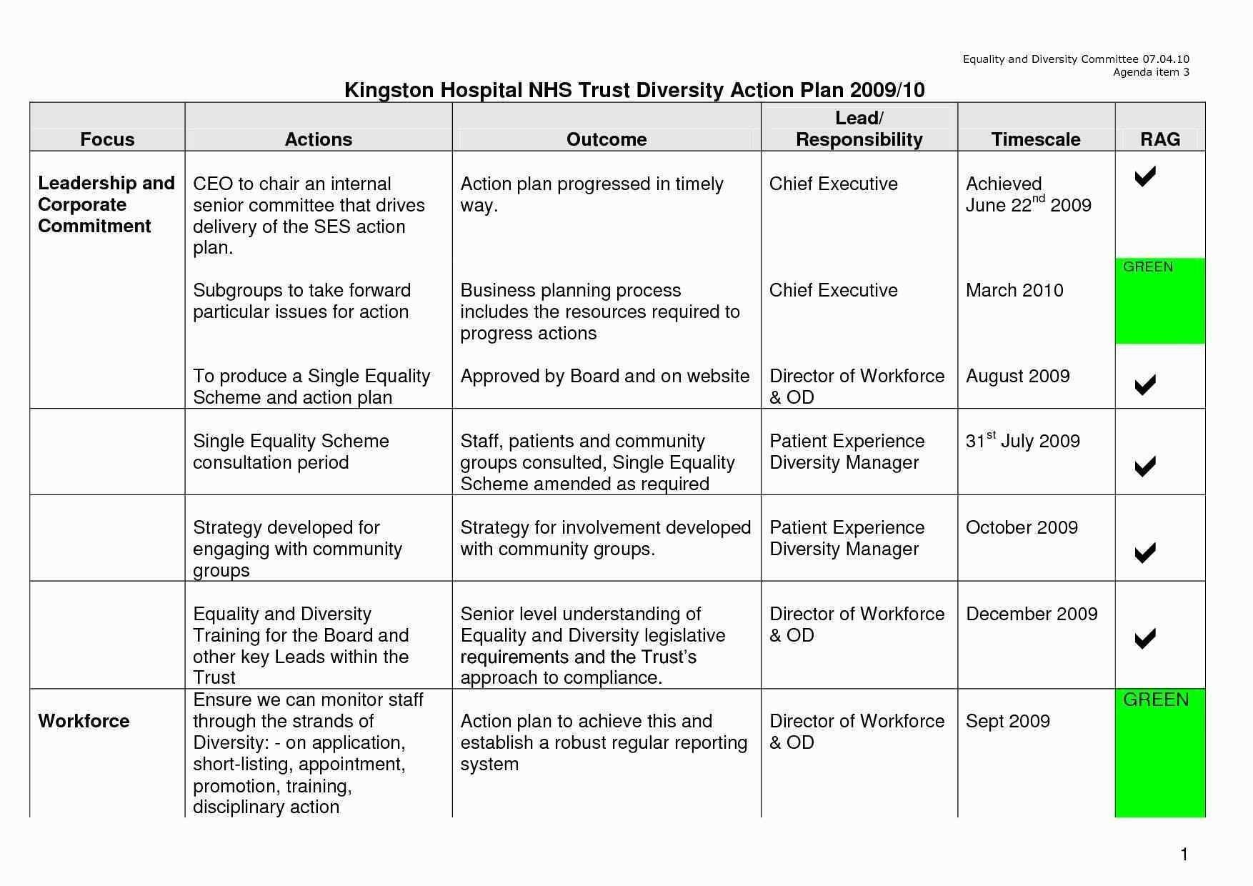 Division business plan outline