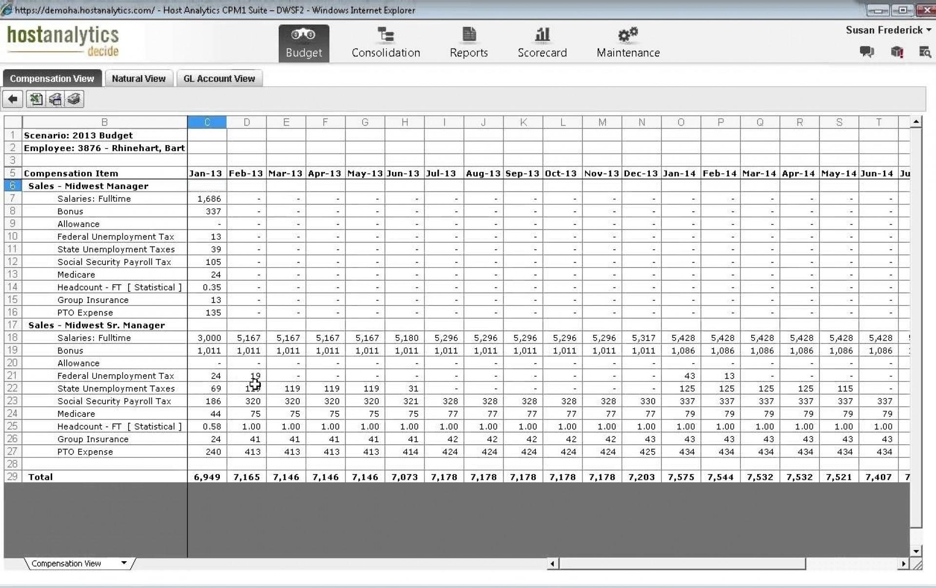 Workforce Planning Spreadsheet Template Pertaining To 005 Workforcening Template Xls Management Excel Spreadsheet