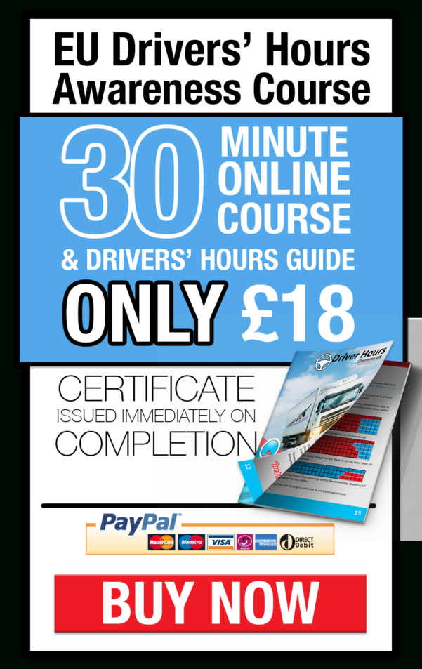 Working Time Directive Drivers Hours Spreadsheet In Online Courses  Driver Hours