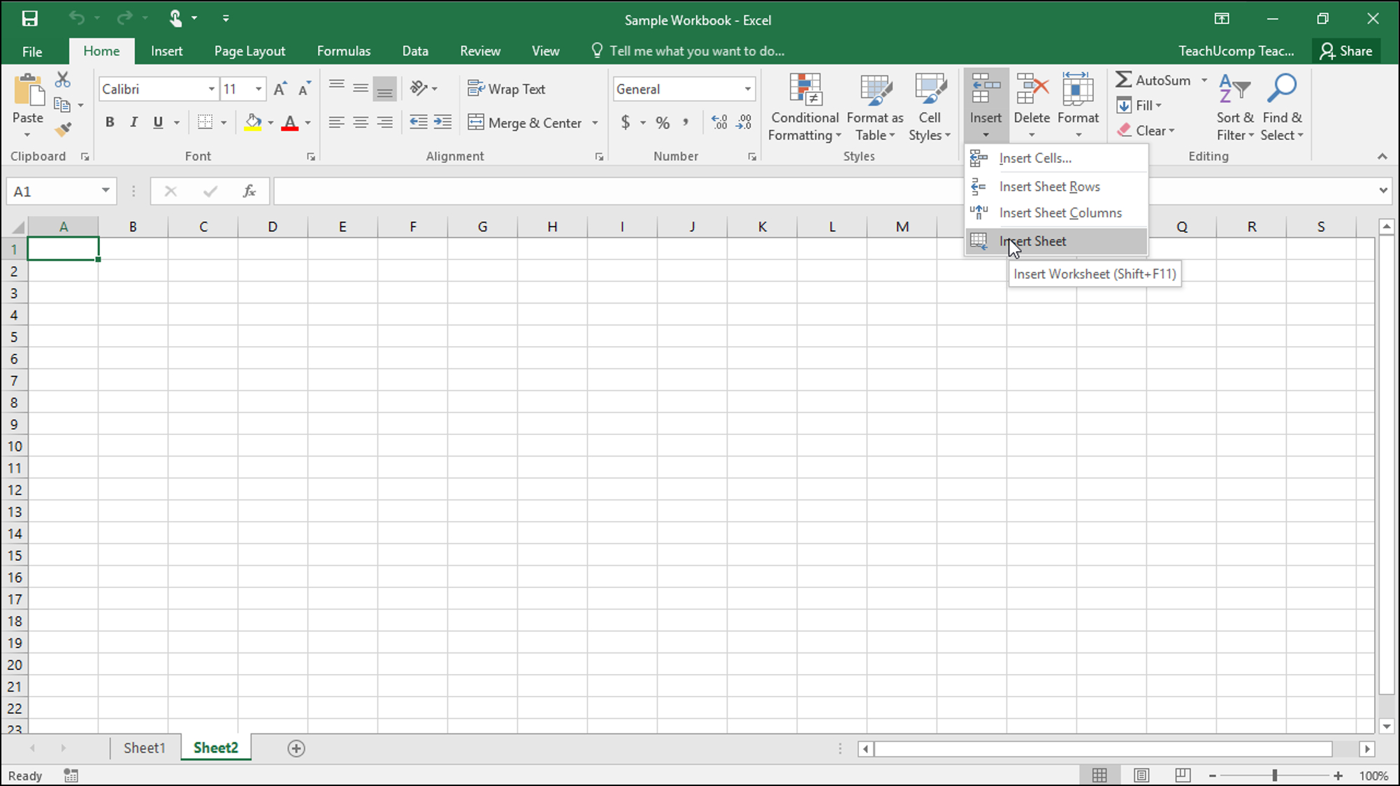 Working With Excel Spreadsheets Within Inserting And Deleting Worksheets In Excel Tutorial