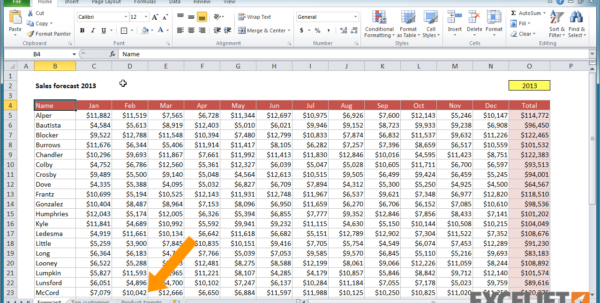 Working With Spreadsheets In Excel Intended For Excel Tutorial: How To Navigate A Workbook