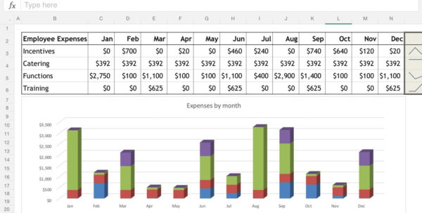 Working With Spreadsheets In Excel Within Excel For Ipad: The Macworld Review  Macworld
