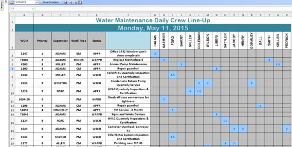 Workload Forecasting Spreadsheet Regarding Scheduling Worksheet Excel  Rent.interpretomics.co