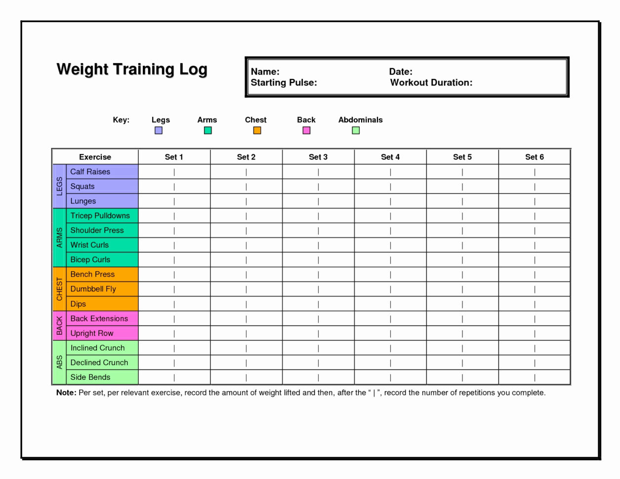 Workout Spreadsheet For Safety Training Tracker Excel Template Employee Free 2010