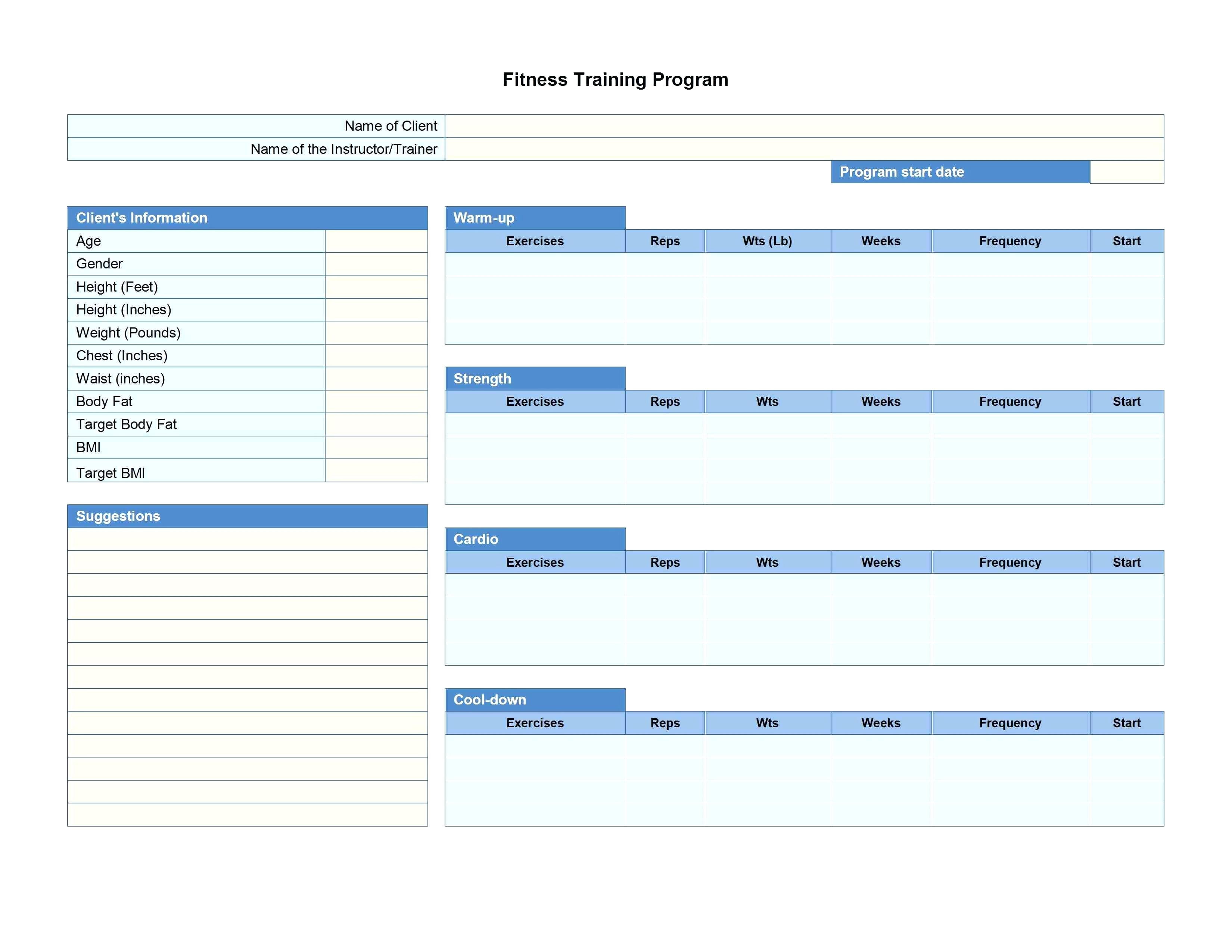 Workout Template Spreadsheet Regarding Template: Weights Program Template Weightlifting Excel Spreadsheet