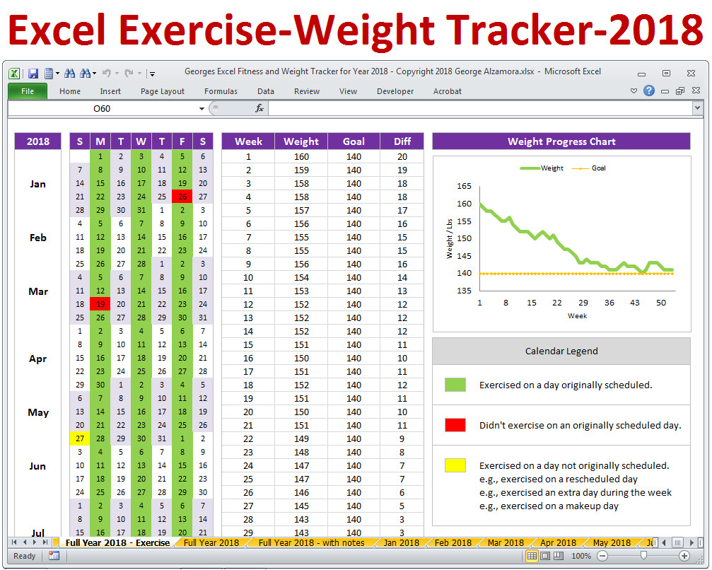 Workout Template Spreadsheet With Workout Template Spreadsheet Awesome Best Fitness Planner
