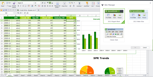 Wps Spreadsheet For Wps Office 10 Free Download, Free Office Software  Kingsoft Office