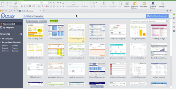 Wps Spreadsheet Inside Wps Office 2015 – Free Microsoft Office Alternative  Cyber Raiden