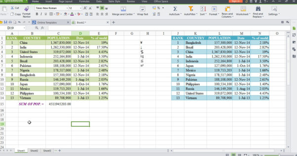 Wps Spreadsheet Pertaining To Wps Office 2015 – Free Microsoft Office Alternative  Cyber Raiden