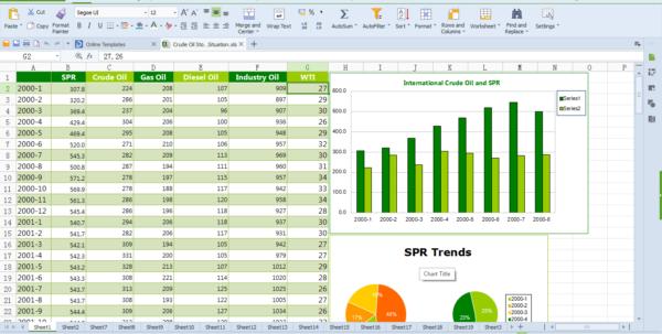 Wps Spreadsheet Templates In Wps Office 10 Free Download, Free Office Software  Kingsoft Office