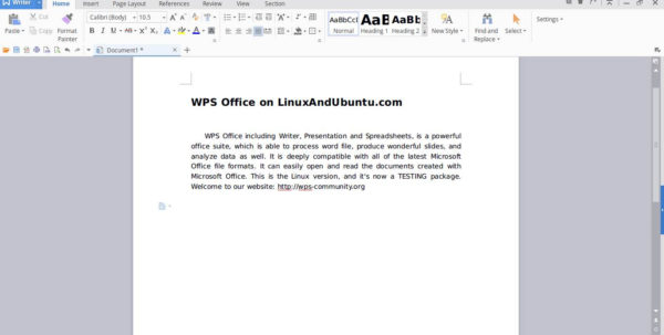Wps Spreadsheet Tutorial Pdf In Wps Office One Of The Best Alternatives To Ms Office On Linux