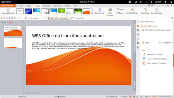Wps Spreadsheet Tutorial Pdf Inside Wps Office One Of The Best Alternatives To Ms Office On Linux