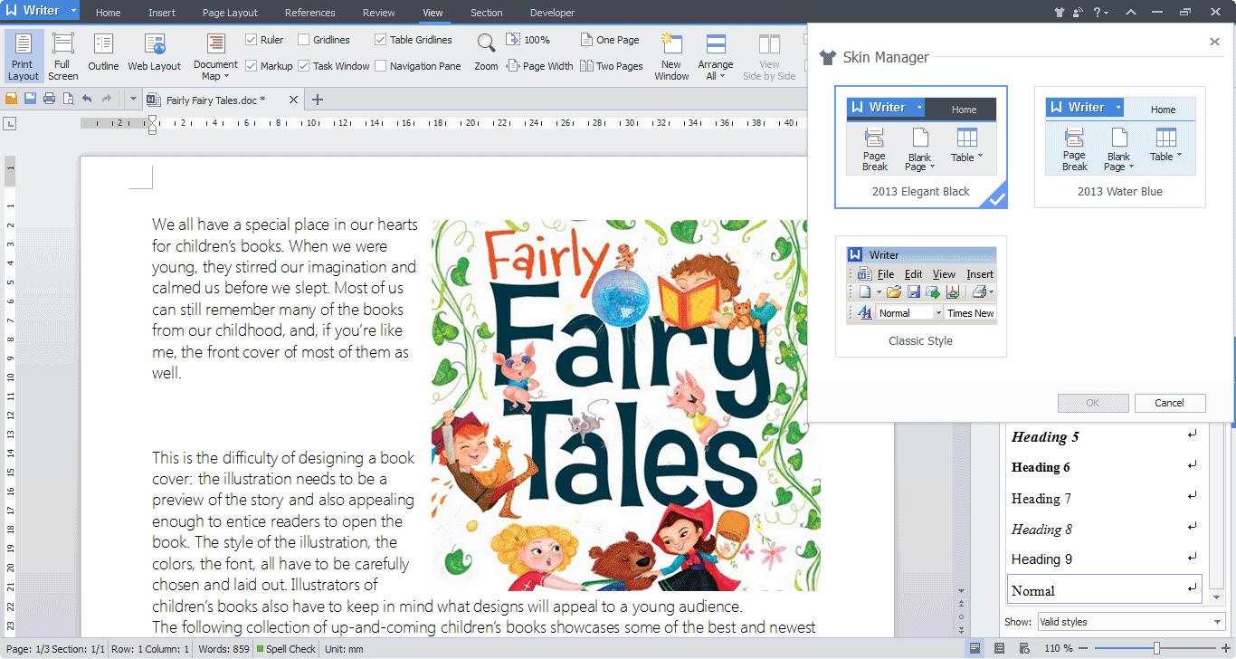 Wps Spreadsheet Tutorial Pdf Regarding Wps Office 10 Free Download, Free Office Software  Kingsoft Office