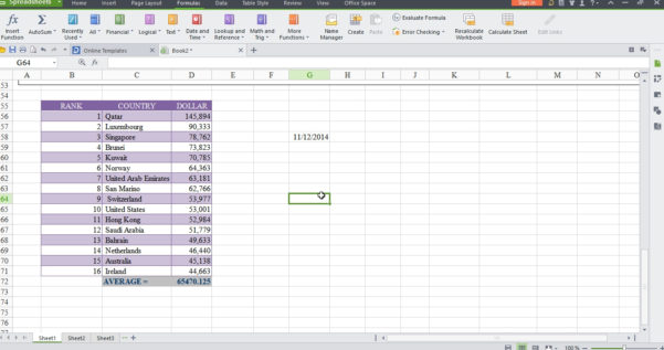 Wps Spreadsheet With Wps Office 2015 – Free Microsoft Office Alternative  Cyber Raiden
