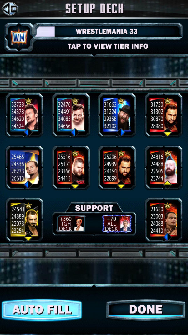 Wwe Supercard Stats Spreadsheet In Official Ring Domination Discussion: Shawn Michaels : Wwesupercard
