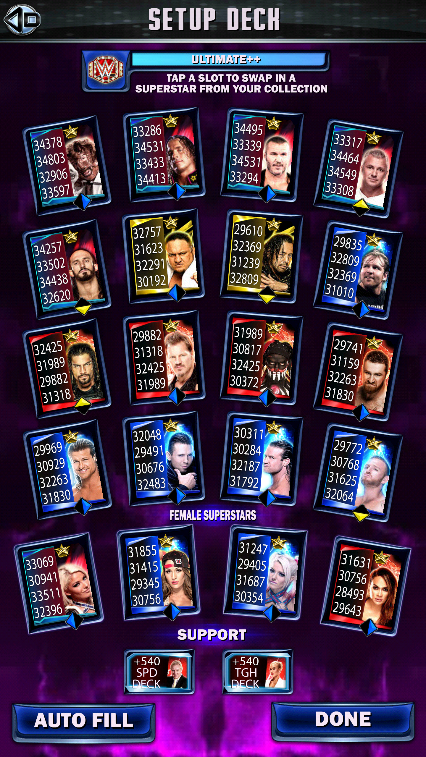 Wwe Supercard Stats Spreadsheet Inside Official Road To Glory Discussion: Jack Gallagher : Wwesupercard
