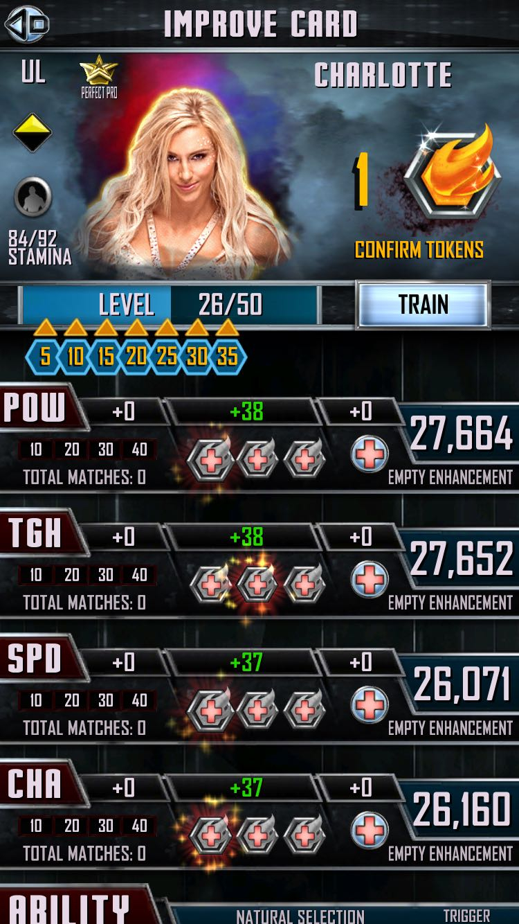 Wwe Supercard Stats Spreadsheet Within Token Problems? Why So Low? Is This Normal? : Wwesupercard