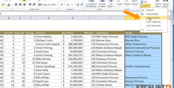Xl Spreadsheet Tutorial Pertaining To Excel Tutorial: How To Delete Data In Excel