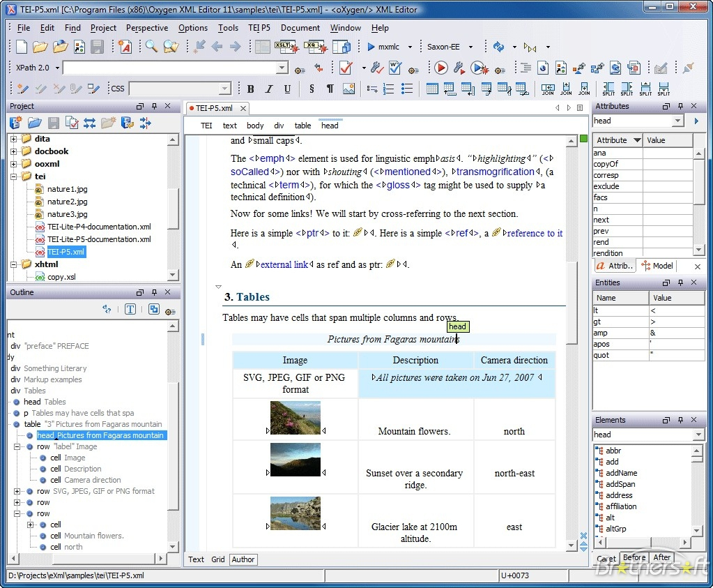 Xml Spreadsheet Editor Regarding Download Free Oxygen Xml Editor, Oxygen Xml Editor 13.2 Download