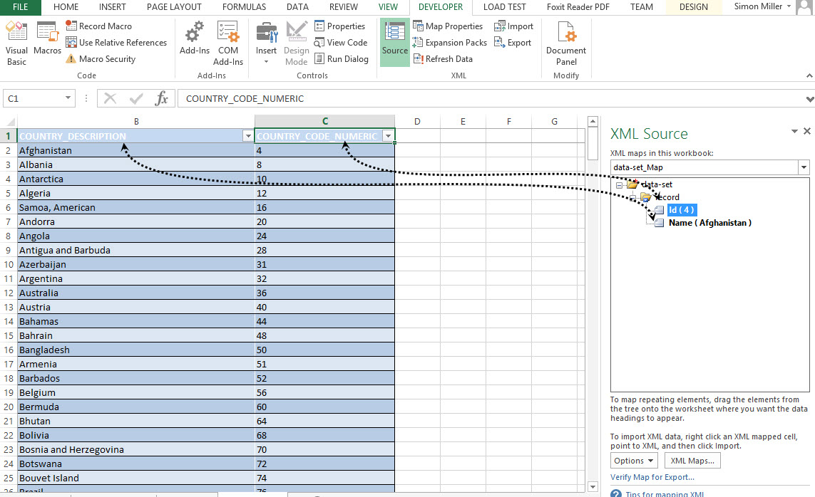 Xml Spreadsheet Regarding Export Excel Spreadsheet Data To Xml  Wiliam Blog