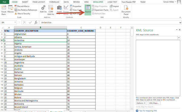 Xml Spreadsheet With Regard To Export Excel Spreadsheet Data To Xml  Wiliam Blog