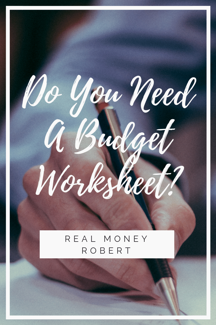 You Need A Budget Spreadsheet Intended For Do You Need A Budget Worksheet?  Real Money Robert