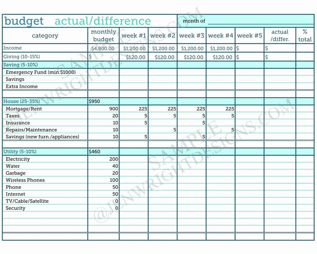 Zero Based Budget Spreadsheet In Zero Based Budget Spreadsheet Dave Ramsey Best Of Form