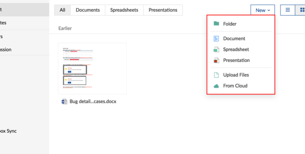 Zoho Spreadsheet Login Pertaining To Create Documentszoho Projects