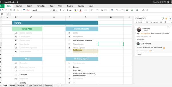 zoho spreadsheet login  Zoho Spreadsheet Login With Charts, Comments, And Other Features  Zoho Sheet Zoho Spreadsheet Login Spreadsheet Downloa
