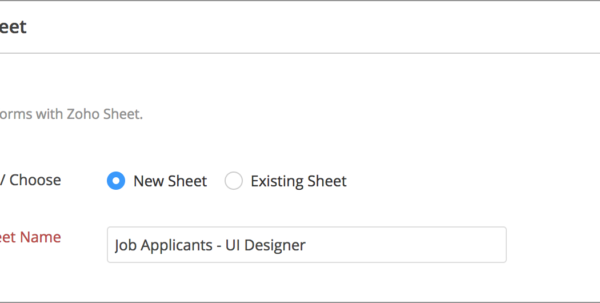 Zoho Spreadsheet Login Within Zoho Sheet Integration  Zoho Forms  User Guide Zoho Spreadsheet Login Spreadsheet Download