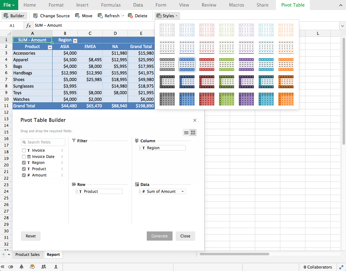 Zoho Spreadsheet throughout What's New In Zoho Sheet