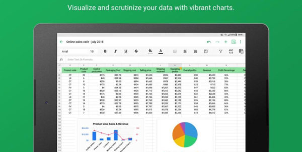 Zoho Spreadsheet Within Mobile Spreadsheet  Zoho Sheet For Android  Apk Download