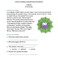 2Nd Grade Reading Comprehension Worksheets Pdf For You