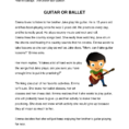 4 Reading Comprehension Worksheet  In Pdf