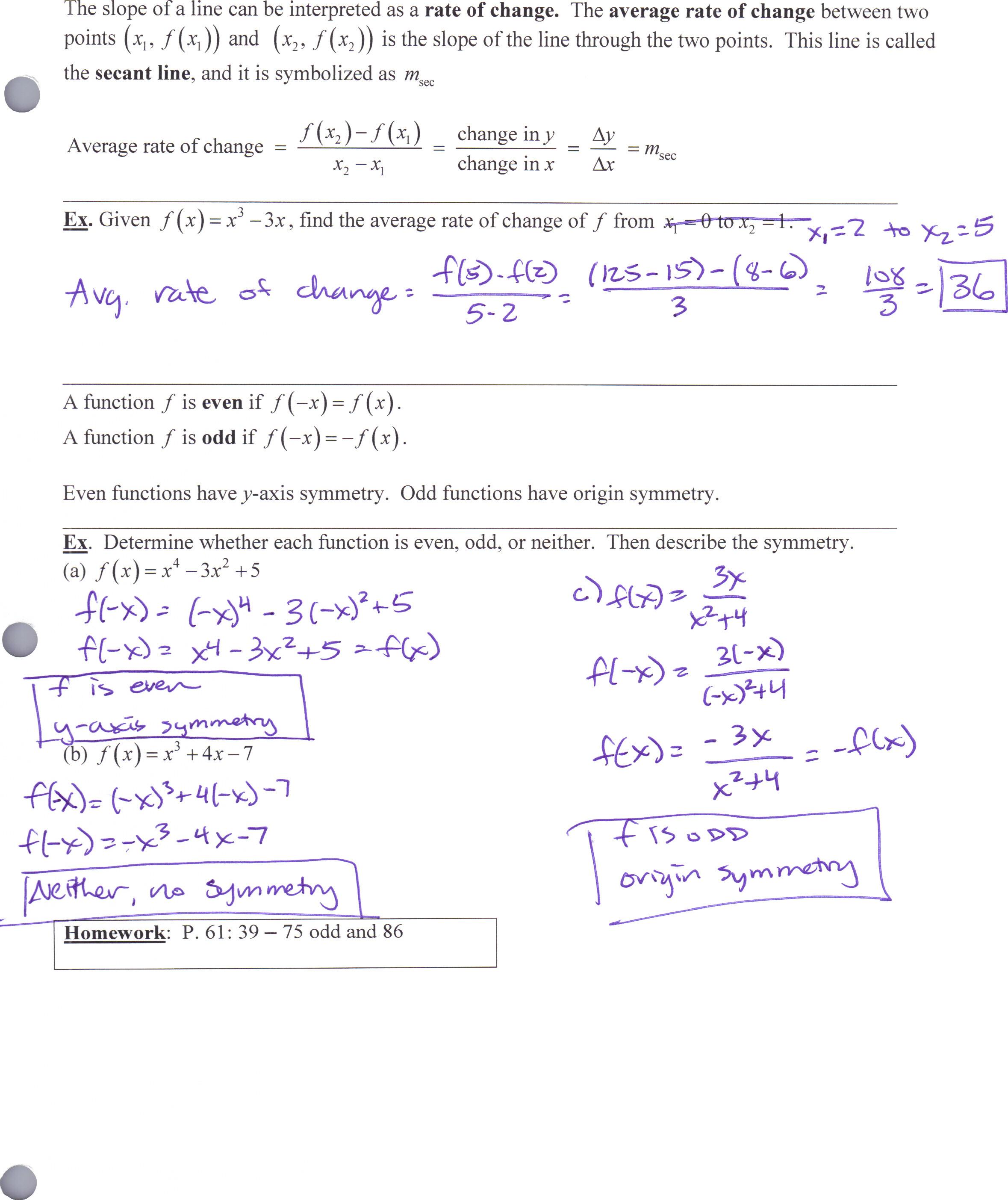 Advanced Precalculus  Advanced Precalculus