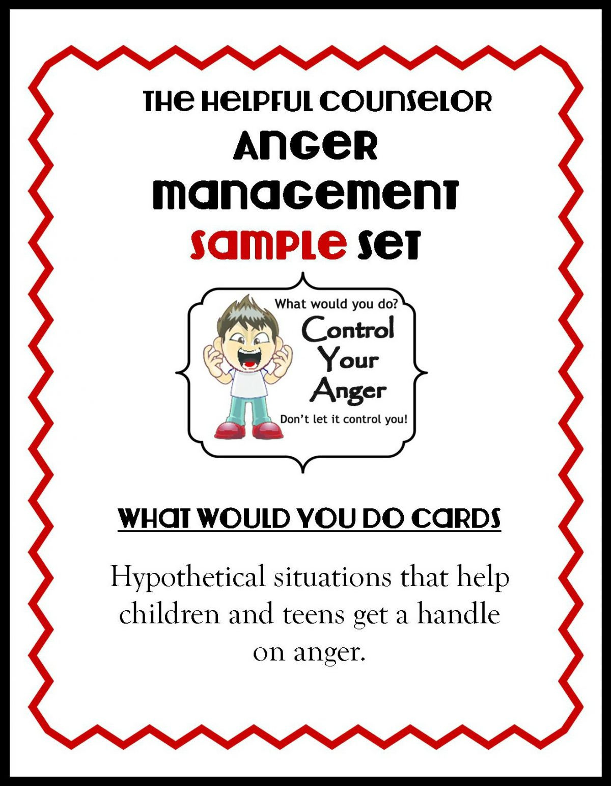 Anger Management Free Printable Problem Solving – The