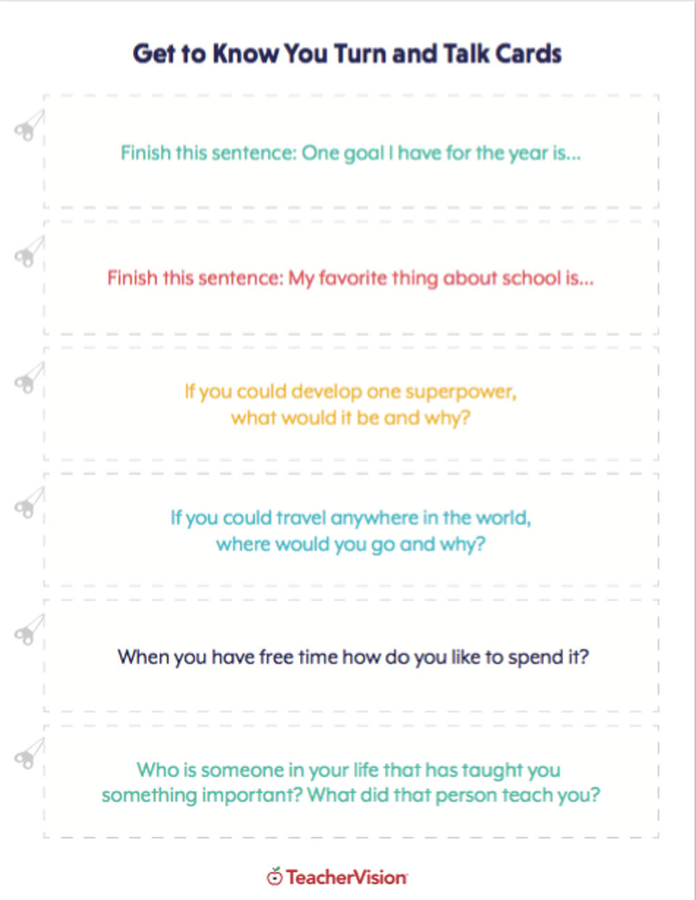 Classroom Activities For Grades K12  Teachervision