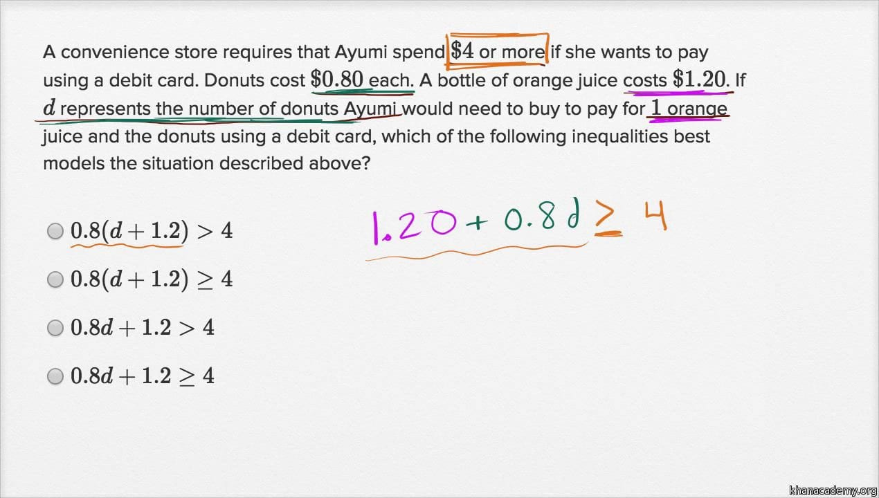 Compound Inequalities Word Problems Worksheet With Answers ...